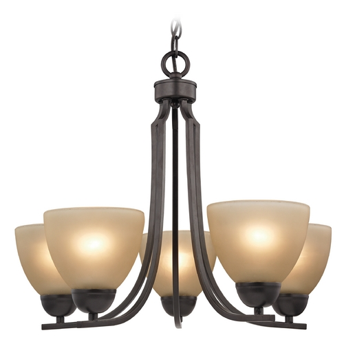 Cornerstone Lighting Cornerstone Lighting Kingston Oil Rubbed Bronze Chandelier 1405CH/10