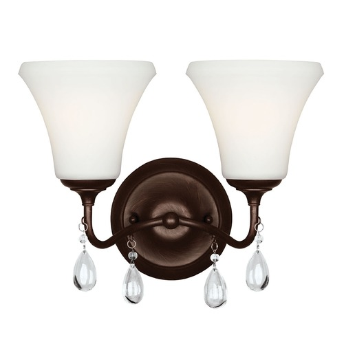 Sea Gull Lighting Sea Gull Lighting West Town Burnt Sienna Bathroom Light 4410502BLE-710