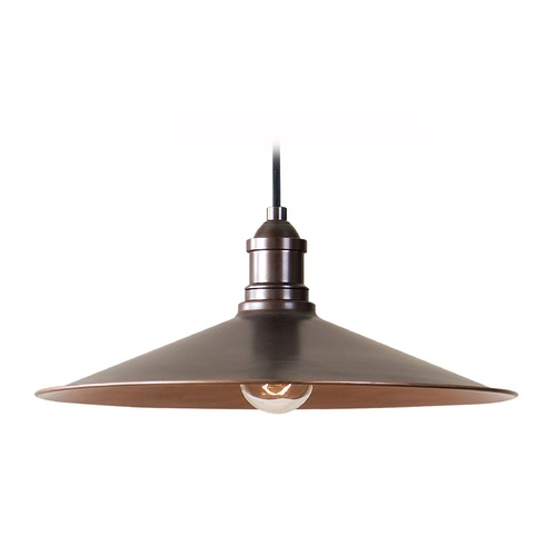 Uttermost Lighting Uttermost Barnstead 1 Light Copper Pendant 22051