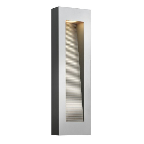 Hinkley Lighting Hinkley Lighting Luna Titanium LED Outdoor Wall Light 1669TT-LED