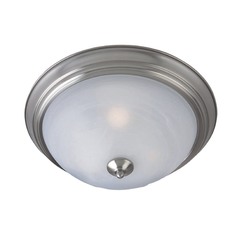 Maxim Lighting Maxim Lighting Outdoor Essentials Satin Nickel Close To Ceiling Light 1940MRSN