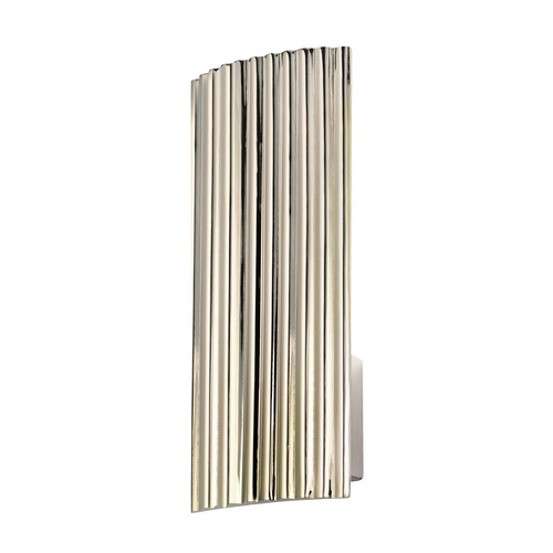 Sonneman Lighting Modern Sconce Wall Light in Polished Nickel Finish 4621.35