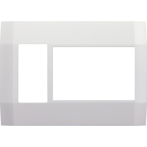 Deako Smart Lighting Deako Three Gang Replacement Faceplate with Outlet DS-FP3X-WHNL-UCD