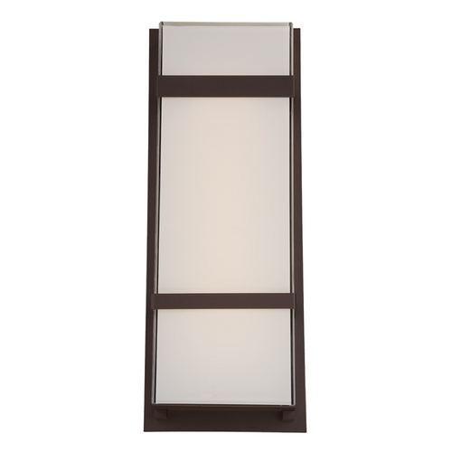 Modern Forms by WAC Lighting Modern Forms Phantom Bronze LED Outdoor Wall Light WS-W1621-BZ
