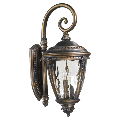 Quorum Lighting Quorum Lighting Pemberton Bronze Patina Outdoor Wall Light 7321-3-39