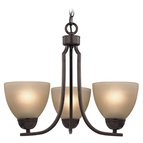 Cornerstone Lighting Cornerstone Lighting Kingston Oil Rubbed Bronze Chandelier 1403CH/10