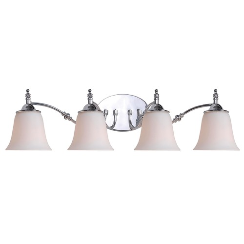Kenroy Home Lighting Kenroy Home Lighting Rumson Chrome Bathroom Light 93514CH
