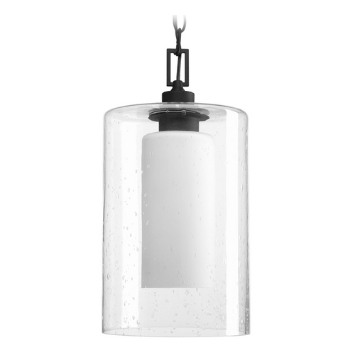Progress Lighting Progress Lighting Compel Black Outdoor Hanging Light P6520-31