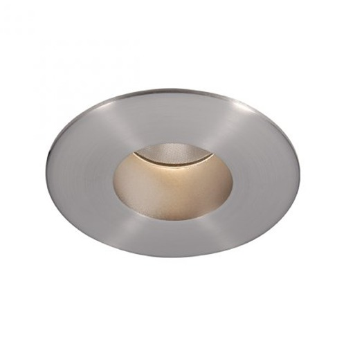 WAC Lighting WAC Lighting Round Brushed Nickel 2-Inch LED Recessed Trim 2700K 600LM 27 Degree HR2LEDT209PN927BN