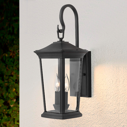 Hinkley Black Outdoor Wall Light by Hinkley 2364MB