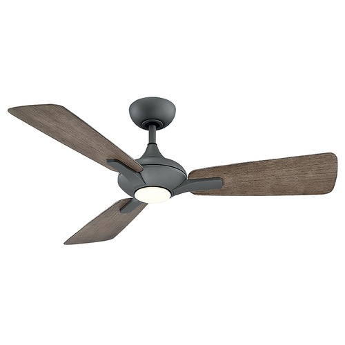 Modern Forms by WAC Lighting Modern Forms Graphite 52-Inch LED Smart Ceiling Fan 1110LM 3000K FR-W1819-52L-GH/WG