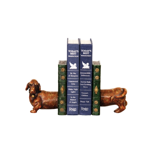 Sterling Lighting Wiener Dog Decorative Bookend Set 93-5784