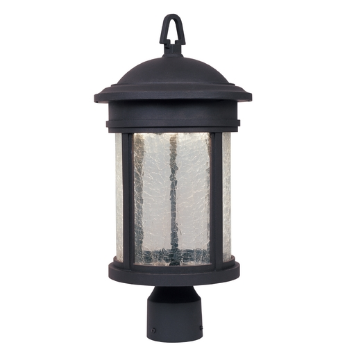 Designers Fountain Lighting LED Post Light with Clear Glass in Oil Rubbed Bronze Finish LED31136-ORB