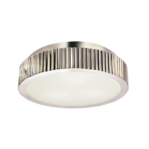 Sonneman Lighting Modern Flushmount Light in Polished Nickel Finish 4629.35
