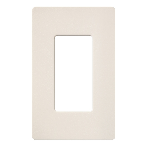 Lutron Dimmer Controls Single-gang Wallplate SC-1-ES
