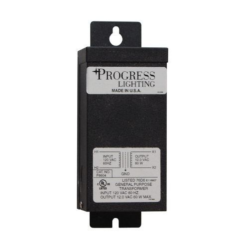 Progress Lighting Progress Undercabinet Transformer in Black Finish P8604-31