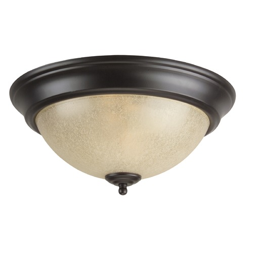 Jeremiah Lighting Jeremiah Oiled Bronze Flushmount Light X713-OB