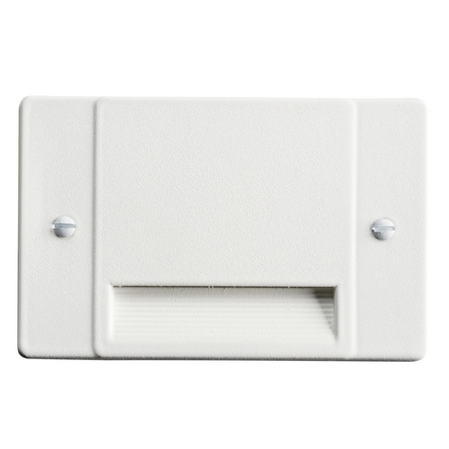 Kichler Lighting Kichler Lighting Step and Hall Light White LED Recessed Step Light 12663WH