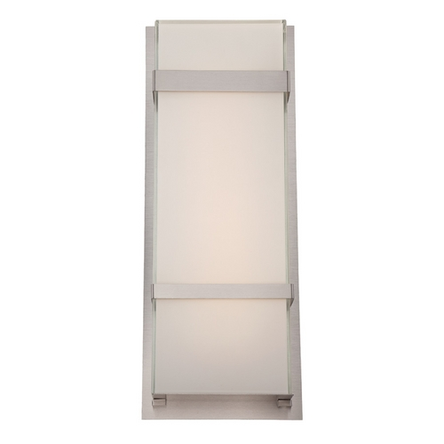 Modern Forms by WAC Lighting Modern Forms Phantom Stainless Steel LED Outdoor Wall Light WS-W1621-SS