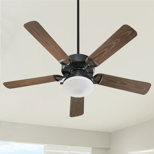 Quorum Lighting Quorum Lighting Estate Patio Old World Ceiling Fan with Light 143525-995