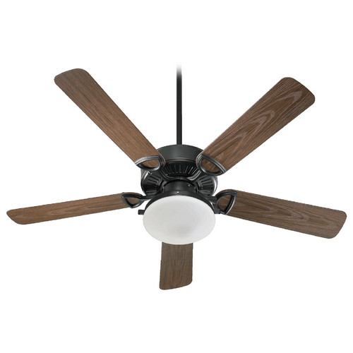 Quorum Lighting Estate Patio Old World Ceiling Fan With