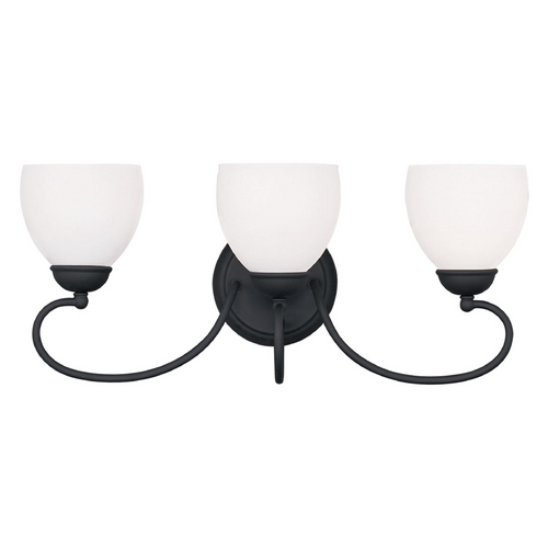 Livex Lighting Livex Lighting Brookside Black Bathroom Light 4753-04