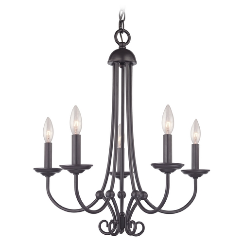 Cornerstone Lighting Cornerstone Lighting Williamsport Oil Rubbed Bronze Chandelier 1505CH/10