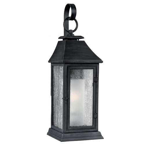 Feiss Lighting Feiss Lighting Shepherd Dark Weathered Zinc Outdoor Wall Light OL10601DWZ