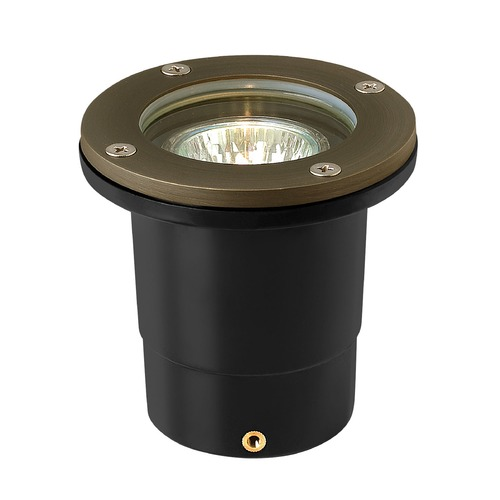 Hinkley Lighting Hinkley Lighting Hardy Island Bronze LED In-Ground Well Light 16701MZ-27K60