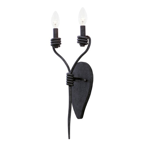 Kalco Lighting Kalco Sundance Charcoal Sconce 500920CL