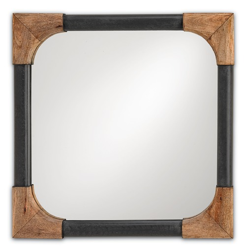 Currey and Company Lighting Nash Square 25-Inch Mirror 1105