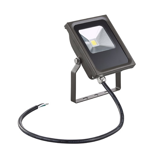Recesso Lighting by Dolan Designs LED Flood Light Bronze 10-Watt 120v-277v 920 Lumens 5000K 110 Degree Beam Spread FL01-10W-50-BZ
