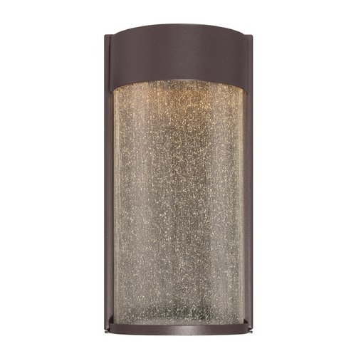 Modern Forms by WAC Lighting Modern Forms Rain Bronze LED Outdoor Wall Light WS-W2412-BZ