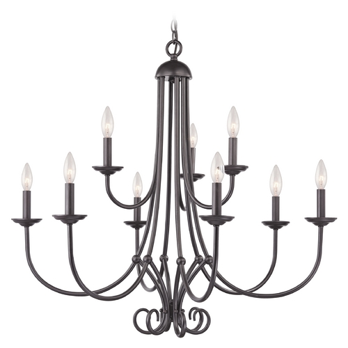 Cornerstone Lighting Cornerstone Lighting Williamsport Oil Rubbed Bronze Chandelier 1509CH/10