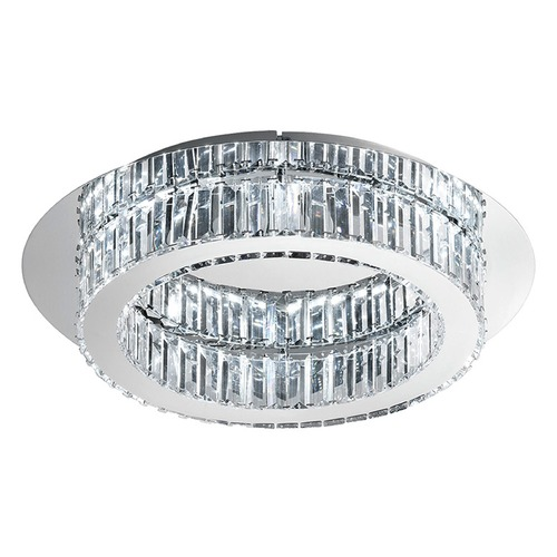 Eglo Lighting Eglo Corliano Chrome LED Flushmount Light 39015A