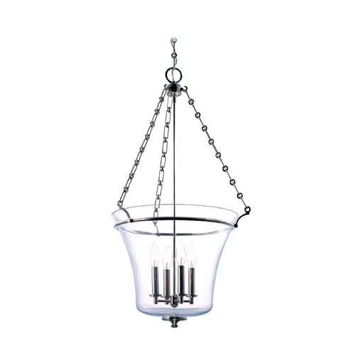 Hudson Valley Lighting Pendant Light with Clear Glass in Old Bronze Finish 834-OB