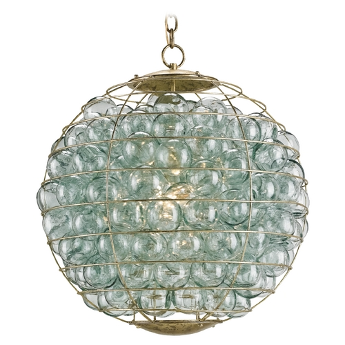 Currey and Company Lighting Currey and Company Lighting Dutch Gold Pendant Light 9395