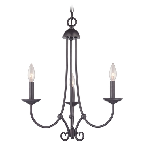 Cornerstone Lighting Cornerstone Lighting Williamsport Oil Rubbed Bronze Chandelier 1503CH/10