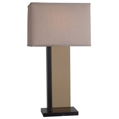 Kenroy Home Lighting Kenroy Home Lighting Skyline Oil Rubbed Bronze Table Lamp with Rectangle Shade 32494ORB