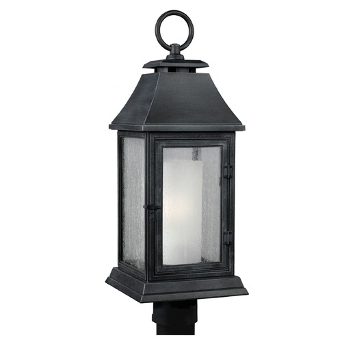 Feiss Lighting Feiss Lighting Shepherd Dark Weathered Zinc Post Light OL10608DWZ