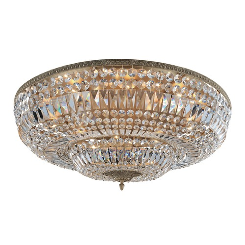 Allegri Lighting Lemire 14 Light Flush Mount w/ Chrome 025946-010-FR001