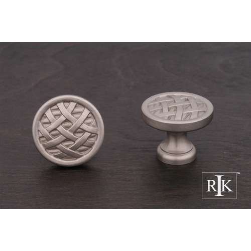 RK International Small Cross-Hatched Knob CK752P