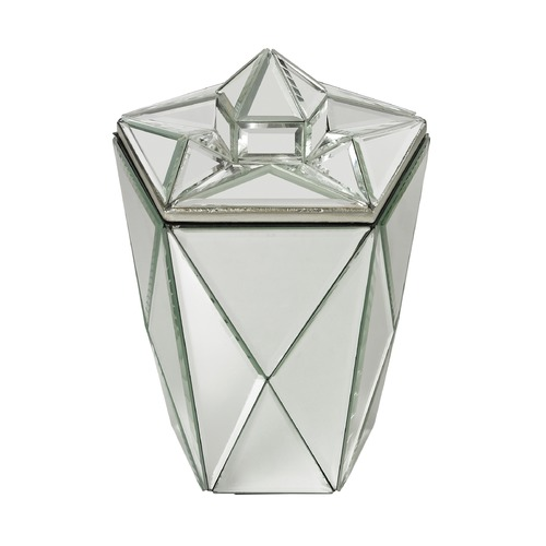 Dimond Lighting Mirrored Jewel Canister 114-130