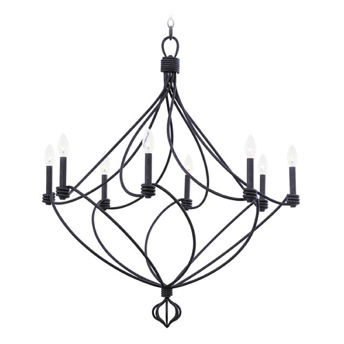 Kalco Lighting Kalco Sundance Charcoal Chandelier 500951CL