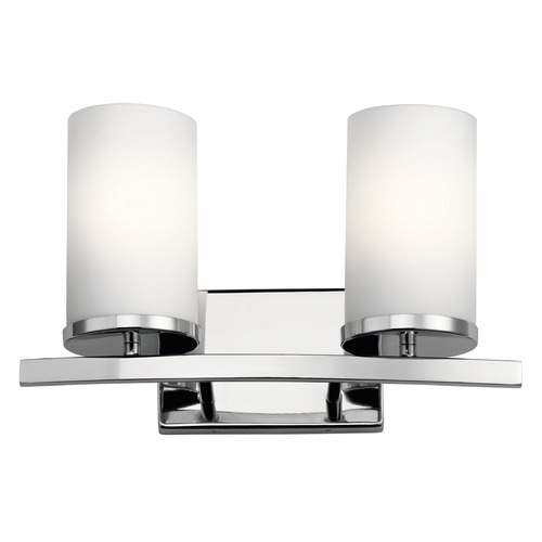 Kichler Lighting Kichler Lighting Crosby Chrome Bathroom Light 45496CH