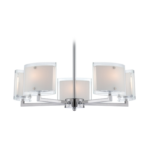 Lite Source Lighting Lite Source Lighting Icety Chrome Chandelier LS-18355