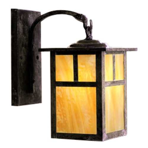 Arroyo Craftsman Lighting 16-Inch Outdoor Wall Light MB-10T-MB-GW