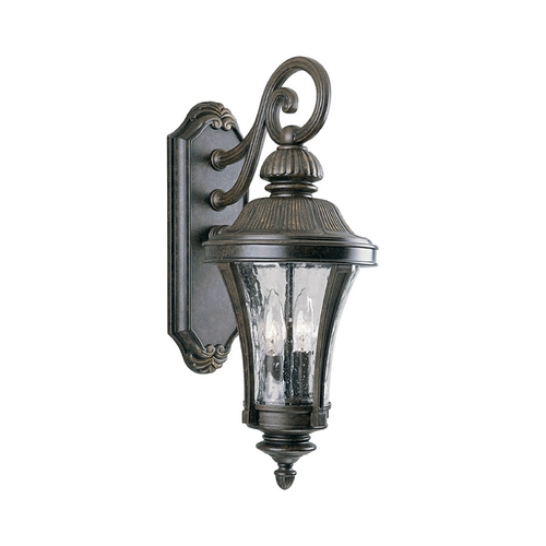 Progress Lighting Progress Outdoor Wall Light with Clear Glass in Forged Bronze Finish P5836-77
