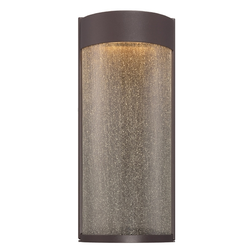 Modern Forms by WAC Lighting Modern Forms Rain Bronze LED Outdoor Wall Light WS-W2416-BZ