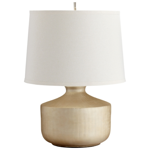 Cyan Design Cyan Design Titanium Love Gold Table Lamp with Drum Shade 05893